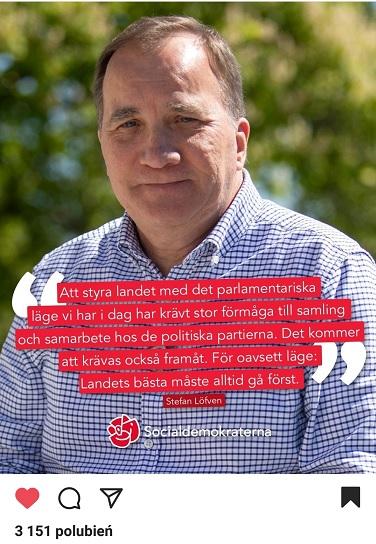 Stefan Loefven Socjaldemokraci